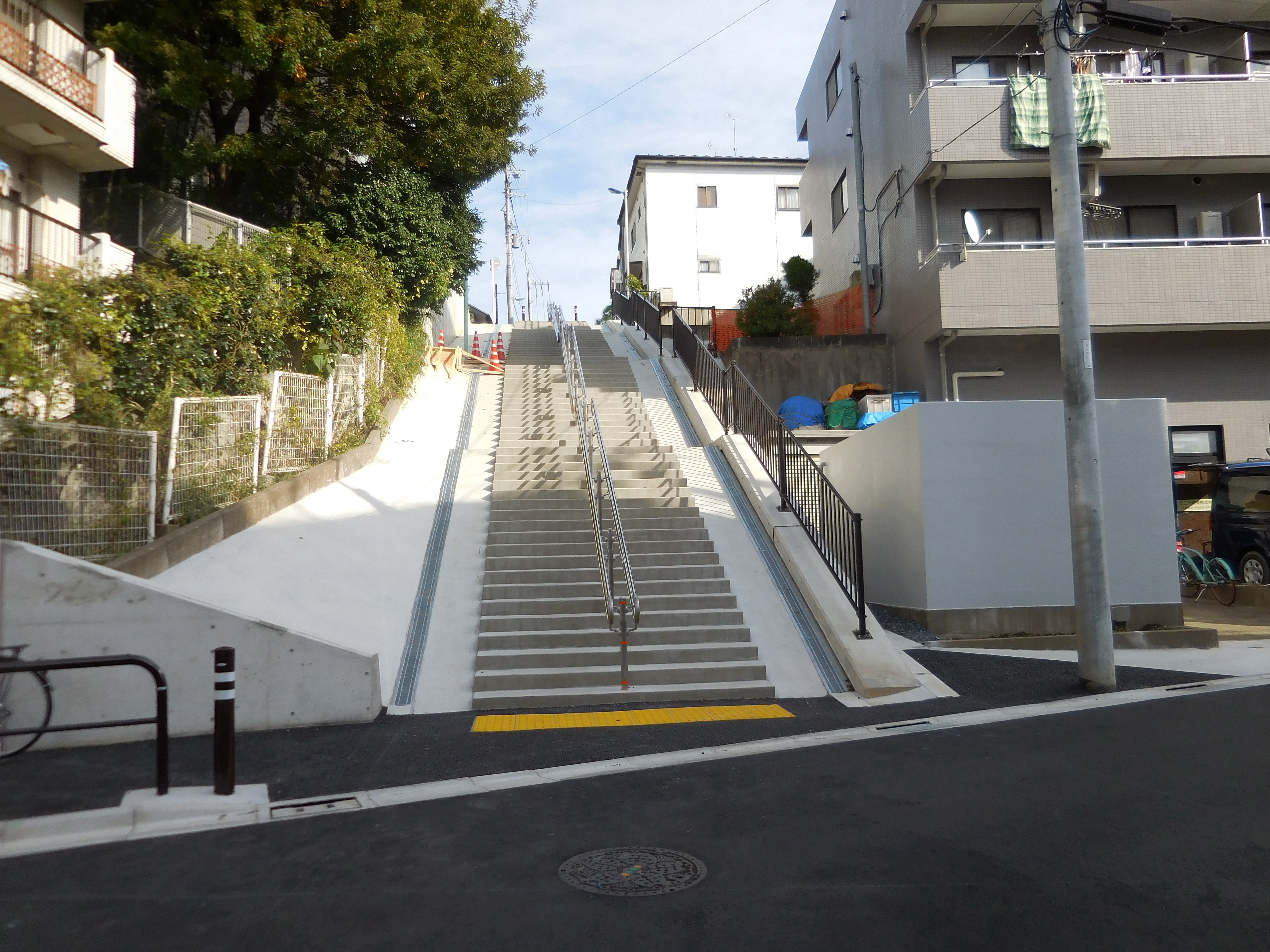 擁壁階段(板橋)